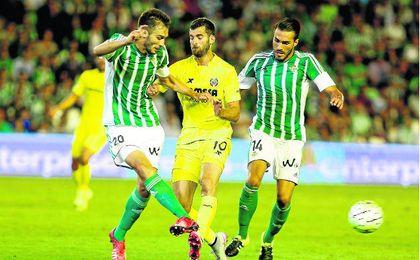 Última visita del Villarreal, primera jornada de la pasada liga.