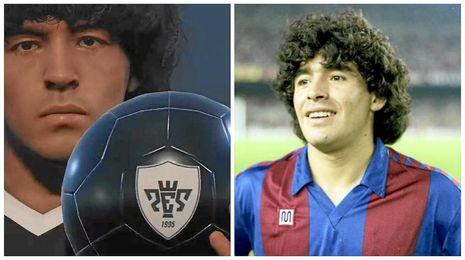 Maradona denuncia a Konami por utilizar su imagen.