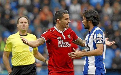 Arribas volverá a enfrentarse al Sevilla.