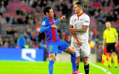 Vitolo fue la imagen de la frustración.