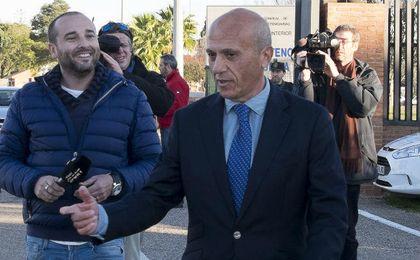 Del Nido, a la salida de prisión, durante un permiso anterior.
