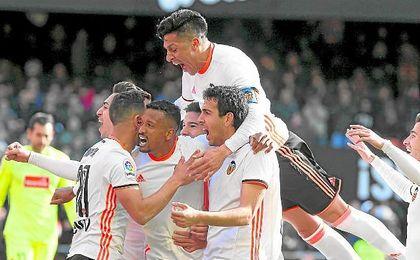 Nani, Parejo y Enzo Pérez son tres de los jugadores que Voro espera recuperar antes del domingo.