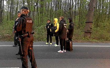 Máxima seguridad en Dortmund