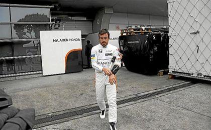 Fernando ALonso no estará en Mónaco.