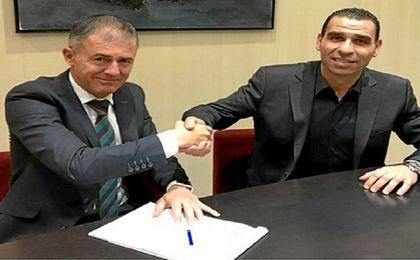 Lucas Alcaraz fue despedido esta misma semana por el Granada.