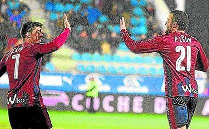 Pedro León ha recuperado su mejor nivel.