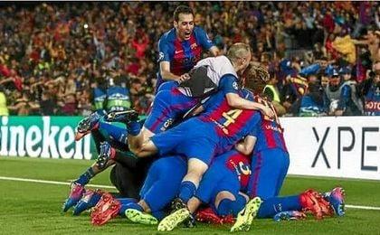 El Barça se mira en el espejo del PSG para creer en una nueva remontada