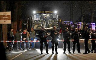 El Borussia Dortmund, ´aliviado´ por la detención del sospechoso del ataque a su autobús