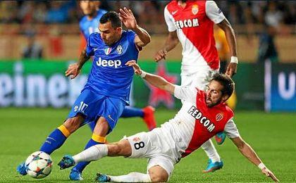 La Juventus se midió cuatro veces con el Mónaco y siempre pasó de ronda