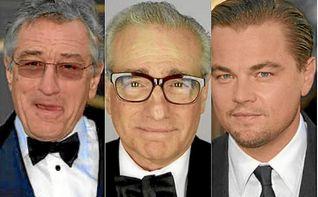 Scorsese, DiCaprio y De Niro, un trío de película
