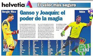 Ganso y Joaquín: el poder de la magia