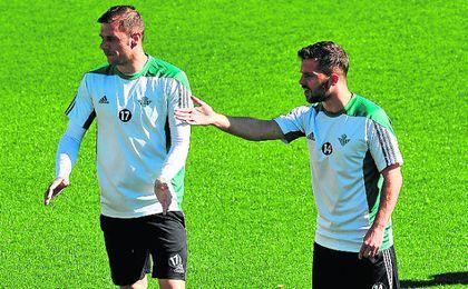 Joaquín y Durmisi ya han regalado ocho goles.