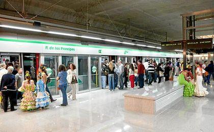 Así está la huelga de metro para la Feria