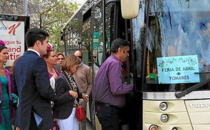 Tomares pone en marcha el autobús especial para la Feria de Sevilla