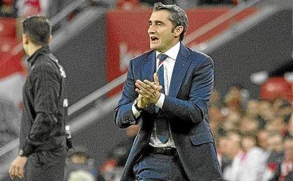 Valverde no se fía del Betis tras lograr la permanencia matemáticamente.