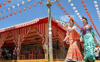 Vestirse de flamenca para la Feria cuesta de media entre 500 y 900 euros