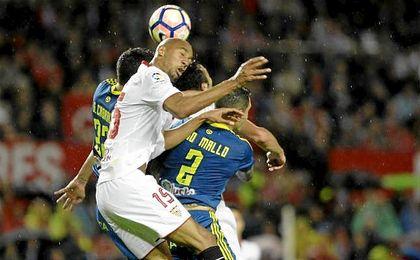 N´Zonzi lideró varias estadísticas fundamentales en el encuentro ante el Celta de Vigo.