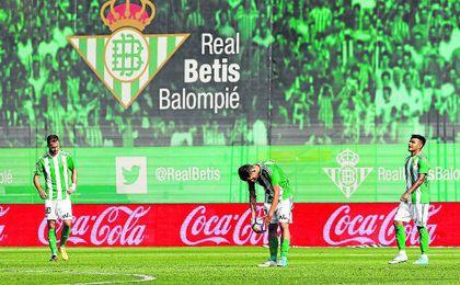 Tres goles en contra en 11 minutos recibió el Betis.
