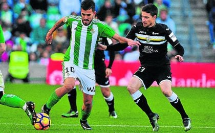 Dani Ceballos, en un lance del partido de la primera vuelta ante el Leganés.