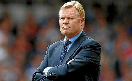 Koeman es el actual entrenador del Everton.