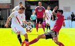 Mirandés-Sevilla At. (0-1): Conquista Anduva y hunde a los locales
