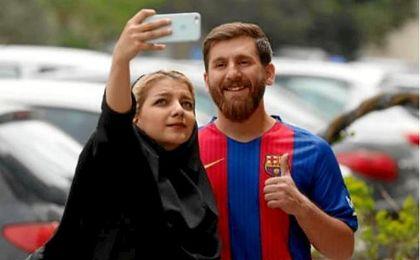 El 'gemelo' iraní de Messi