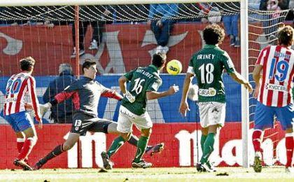 La última victoria del Betis frente al Atlético de Madrid fue en 2011