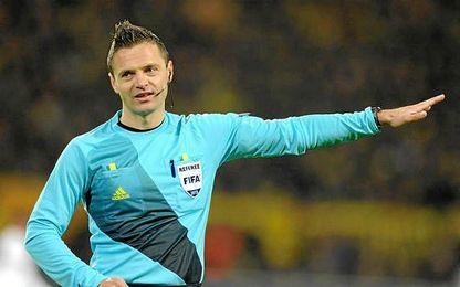 Skomina arbitrará la final de la Europa League.