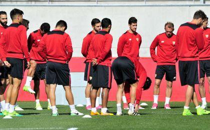 Bajas importantes en la lista del Sevilla para el Bernabéu