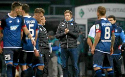 El Hoffenheim de Nagelsmann sería la principal amenaza.