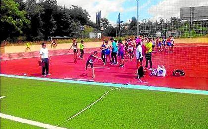 Atletismo en San Juan