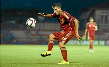 Dani Ceballos, convocado por Celades para el Europeo sub 21