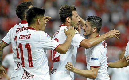 Sevilla FC 5-0 Osasuna: Despedida a lo grande