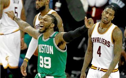Los Celtics, sin Thomas, sorprenden a los Cavaliers