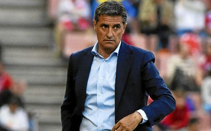 Míchel ha completado un gran final de campaña en Málaga.
