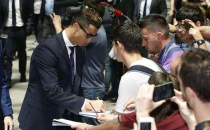 Cristiano Ronaldo tiene problemas con la Hacienda pública.