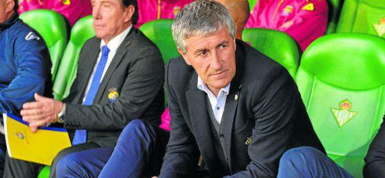 Quique Setién será el próximo entrenador del Betis.