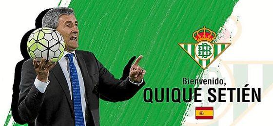 OFICIAL: Setién firma por tres temporadas con el Betis