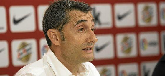 Valverde llega a Barcelona para luchar por los títulos importantes.