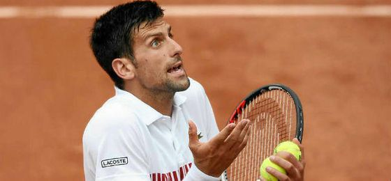 Djokovic sudó el pase a octavos.