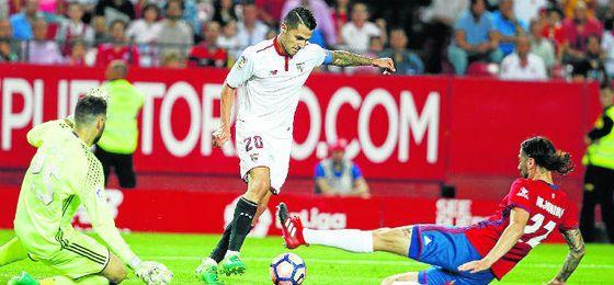 Vitolo despidió el curso con un doblete ante Osasuna y un auténtico golazo que refleja su gran talento.