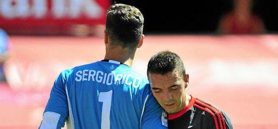Aspas y el goleador que le ha faltado al Sevilla