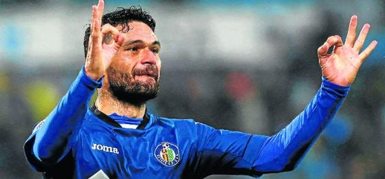 Jorge Molina está siendo el hombre-gol del Getafe.