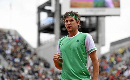 El austríaco Dominic Thiem.