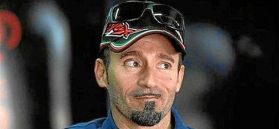El italiano Max Biaggi, ingresado grave en un hospital de Roma.