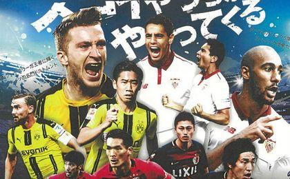 Expectación en Japón a un mes de la visita del Sevilla