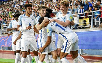 1-0 Un tanto de Calvert-Lewin da la victoria a Inglaterra ante Venezuela