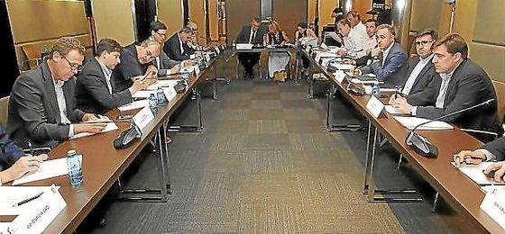 Imagen de la Asamblea General ACB que se ha celebrado este lunes 12 de junio.