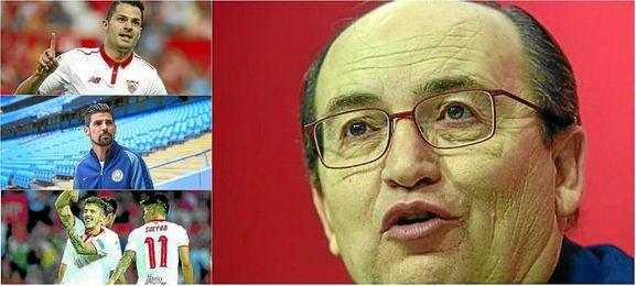 José Castro ha hablado de las entradas y salidas en el Sevilla.