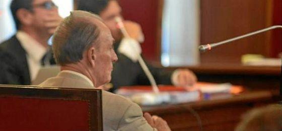 Manuel Ruiz de Lopera, hoy en la Audiencia Provincial de Sevilla.